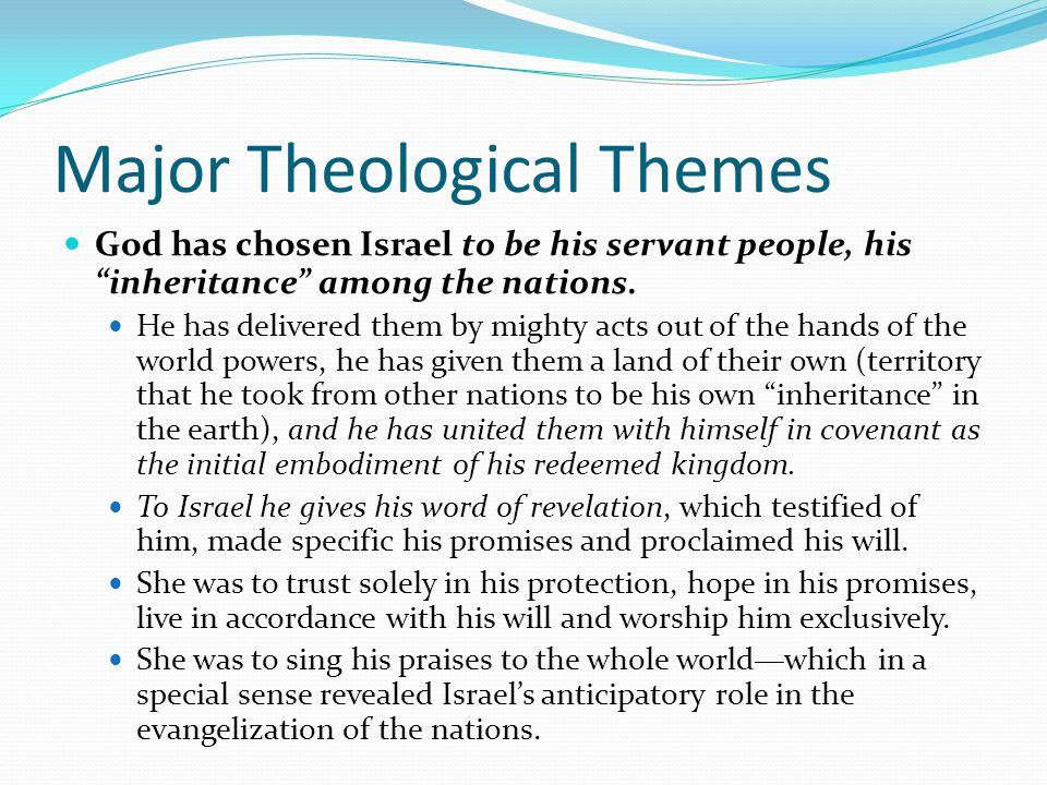 Major Theological Themes
