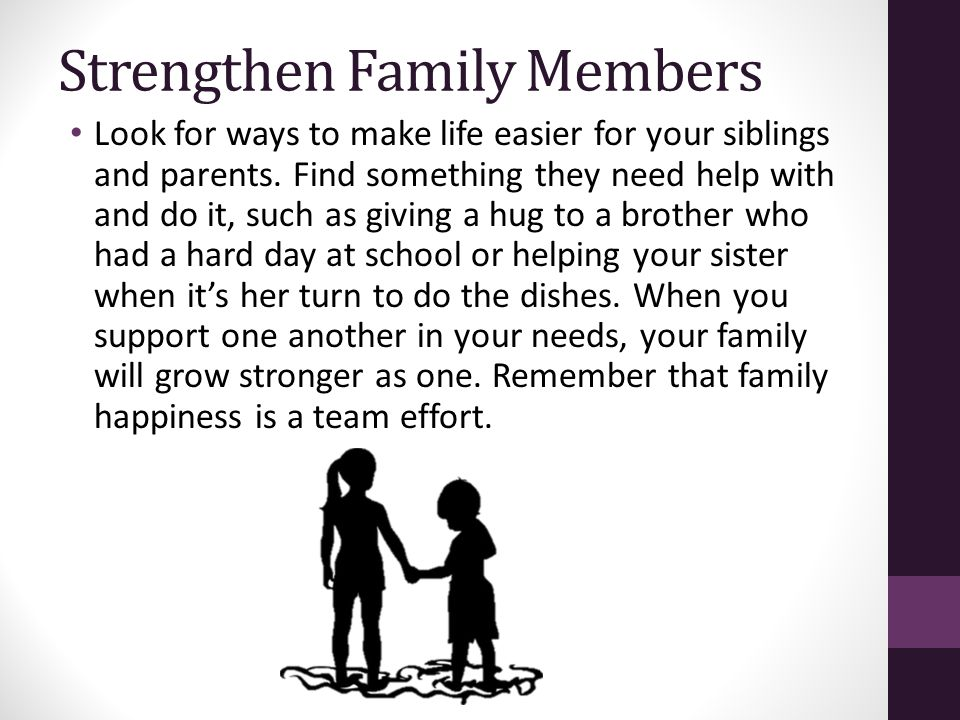 Strengthen Family Members