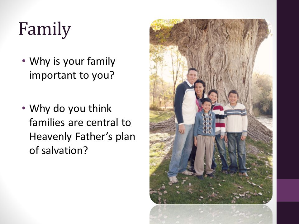 why is family important so important essay The home and family become a foundation for the family's the importance of home and family have you ever been so angry at someone that you couldn't.
