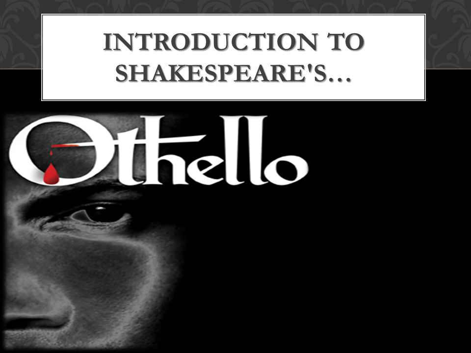Introduction to Shakespeare s…