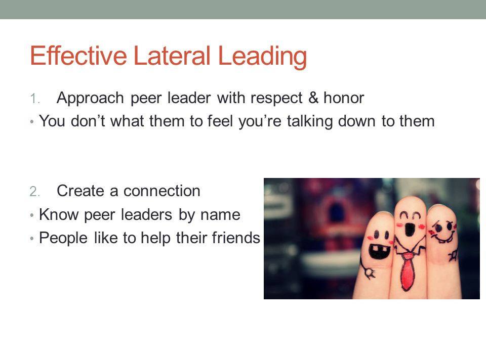 Effective Lateral Leading