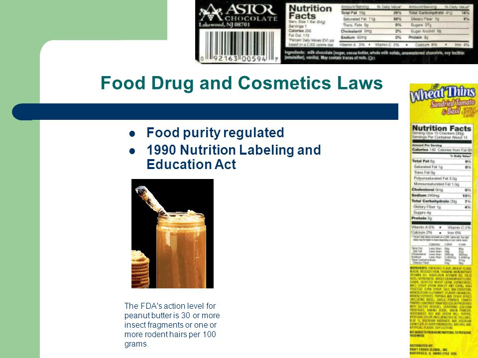Food Drug and Cosmetics Laws
