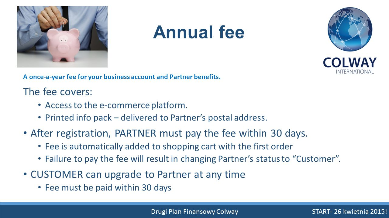 Drugi Plan Finansowy Colway