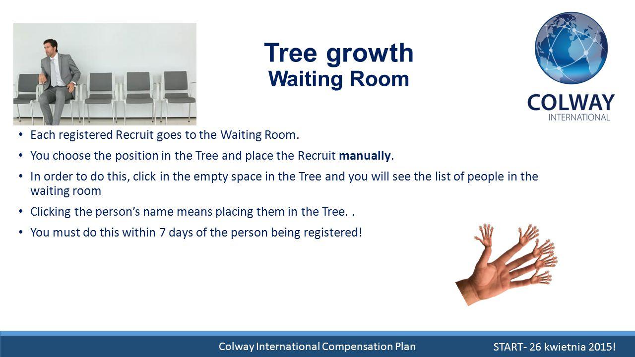 Tree growth Waiting Room