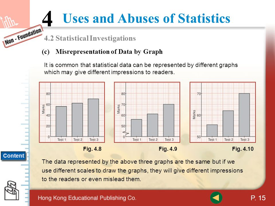 4.2 Statistical Investigations