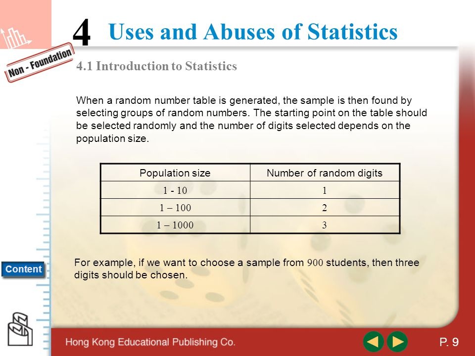 4.1 Introduction to Statistics