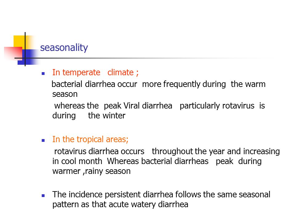 seasonality In temperate climate ;