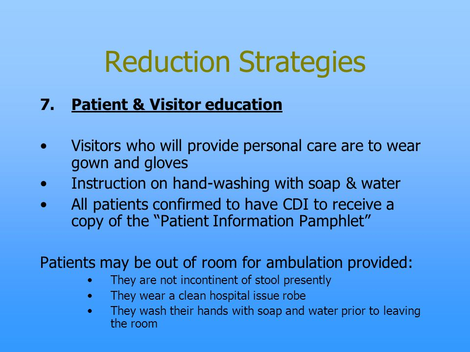 Clostridium Difficile Infectious Diarrhea Ppt Video