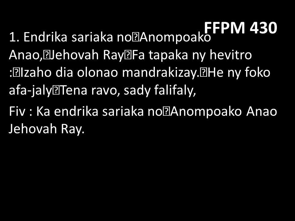 FFPM 430