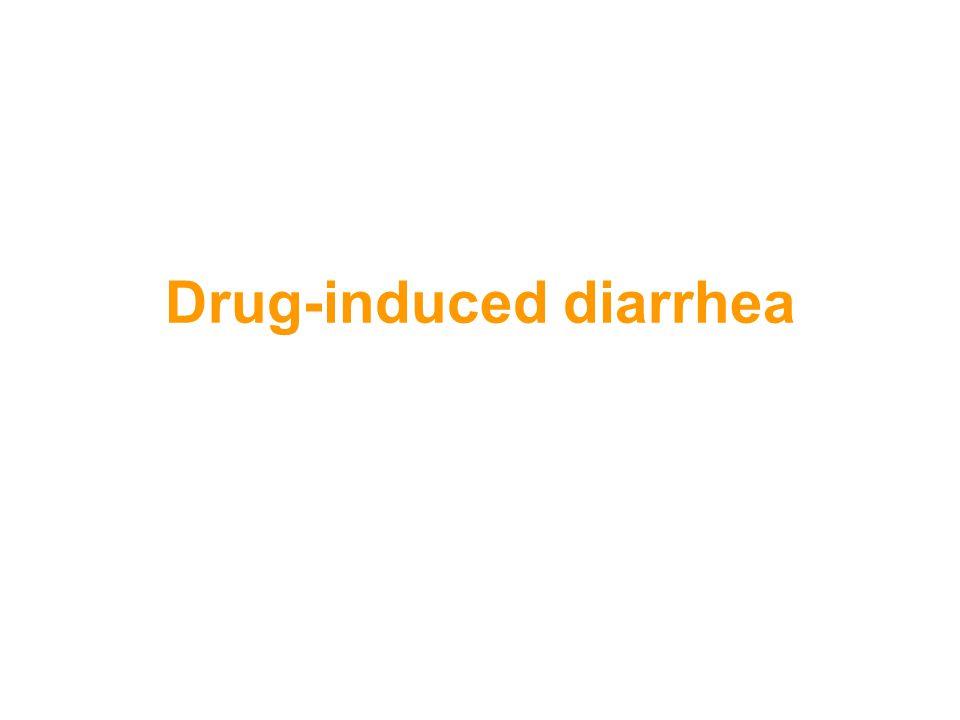 Drug-induced diarrhea