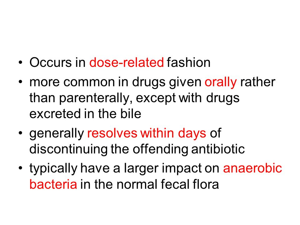 Occurs in dose-related fashion