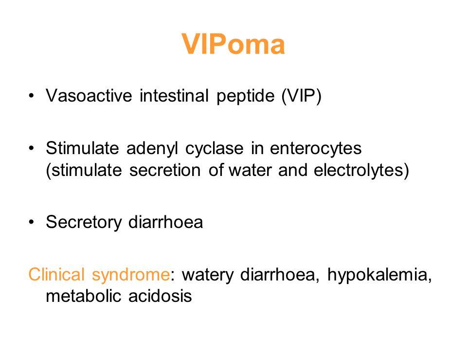 VIPoma Vasoactive intestinal peptide (VIP)