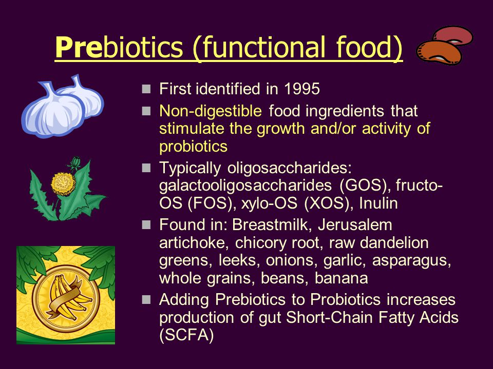Prebiotics (functional food)