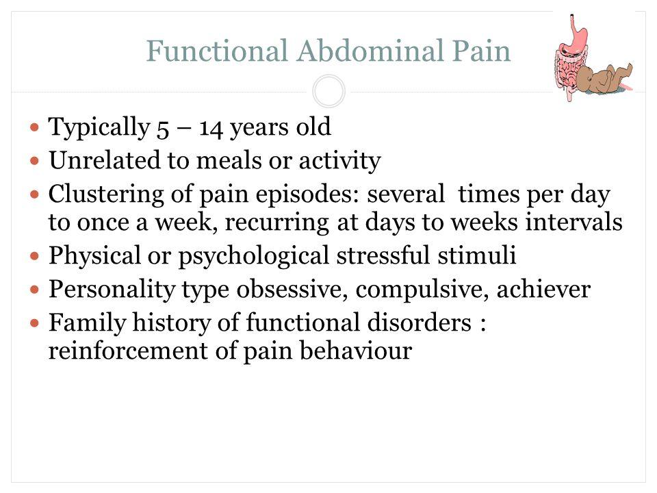Functional Abdominal Pain