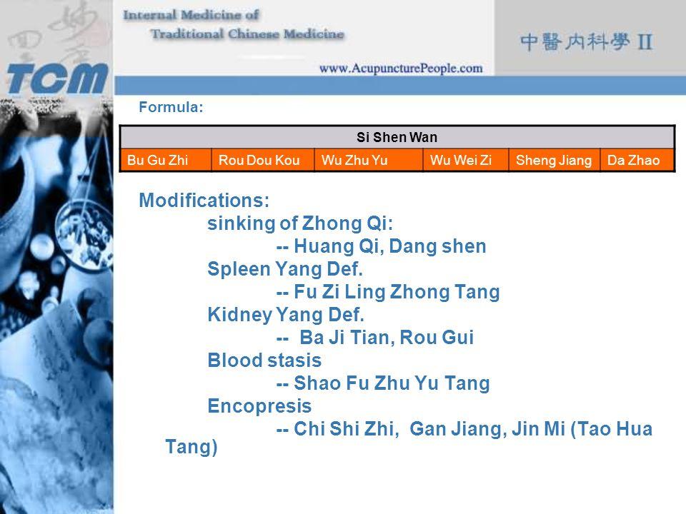 -- Chi Shi Zhi, Gan Jiang, Jin Mi (Tao Hua Tang)