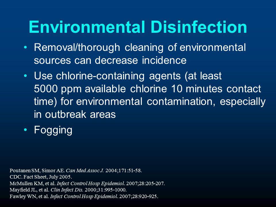 Environmental Disinfection