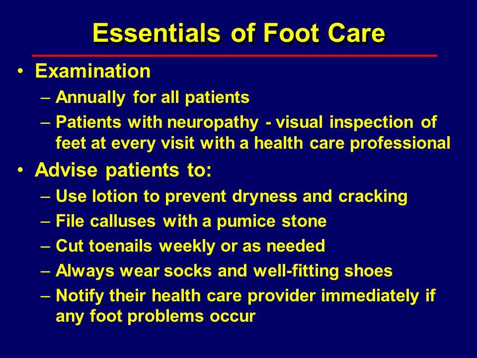 Essentials of Foot Care