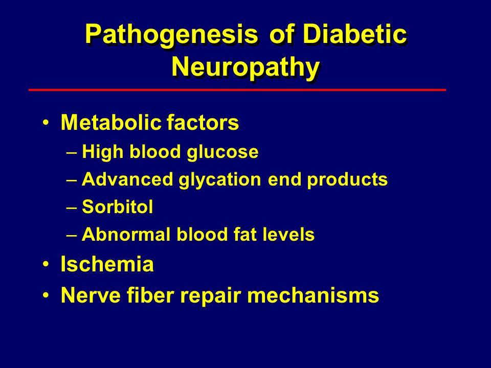 Pathogenesis of Diabetic Neuropathy