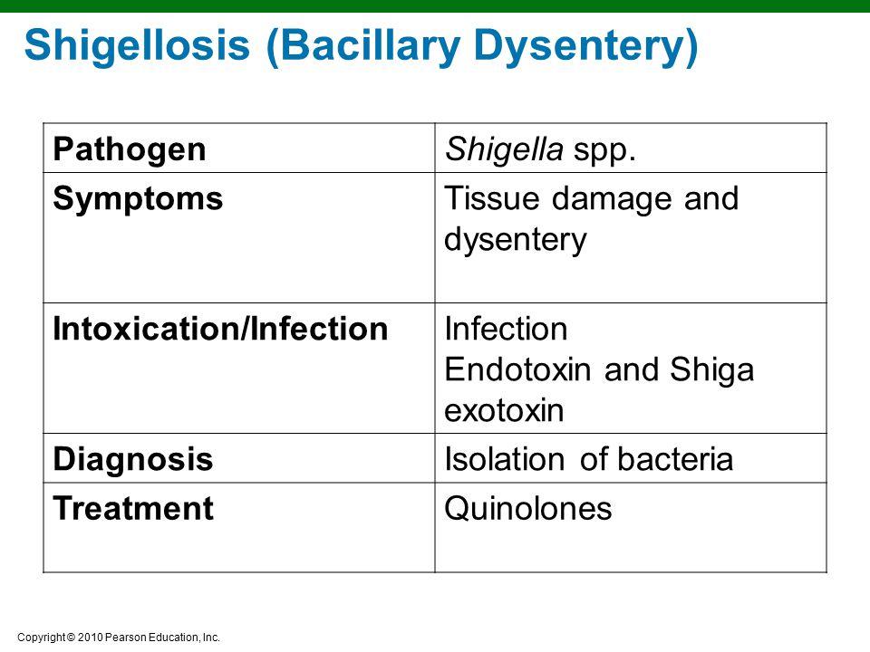 Shigellosis (Bacillary Dysentery)