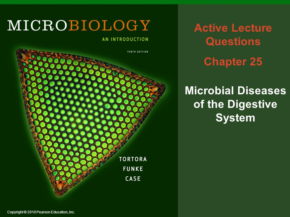 Active Lecture Questions Microbial Diseases of the Digestive System