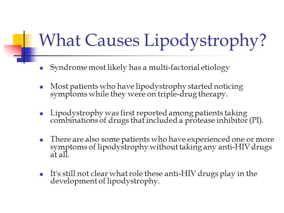 What Causes Lipodystrophy
