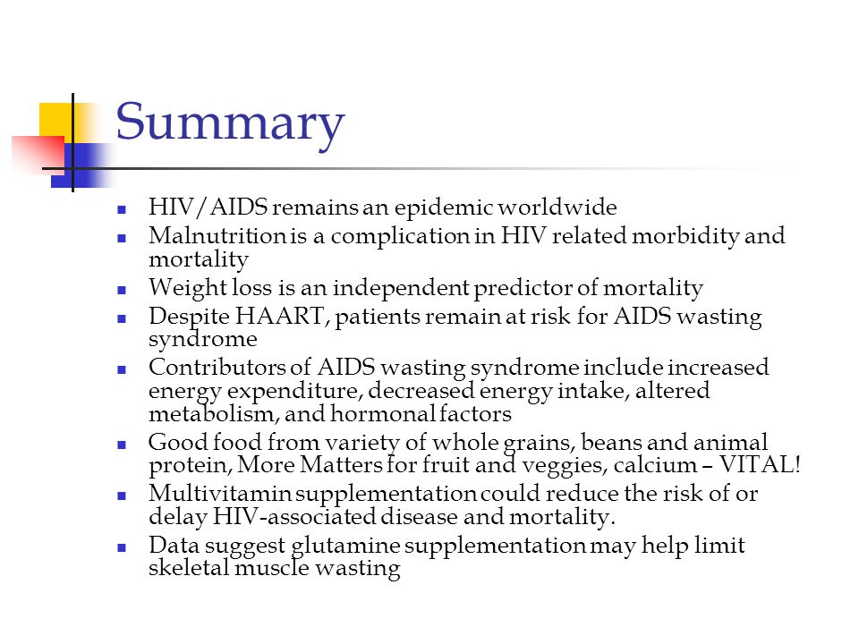 Summary HIV/AIDS remains an epidemic worldwide
