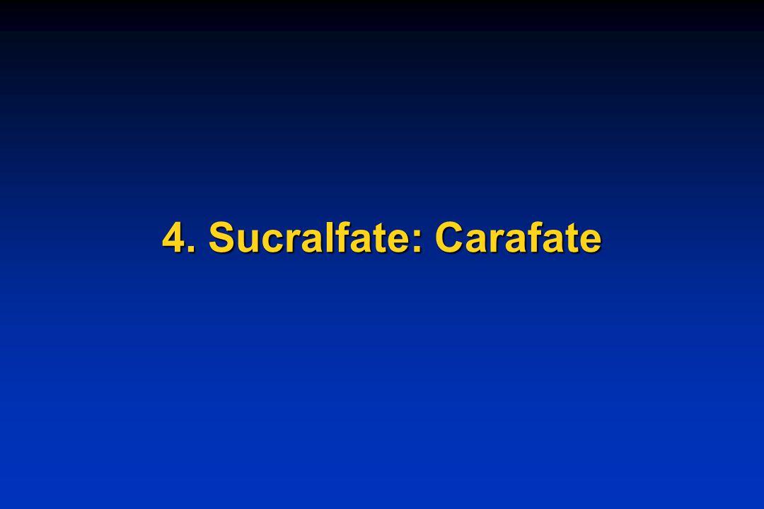 4. Sucralfate: Carafate