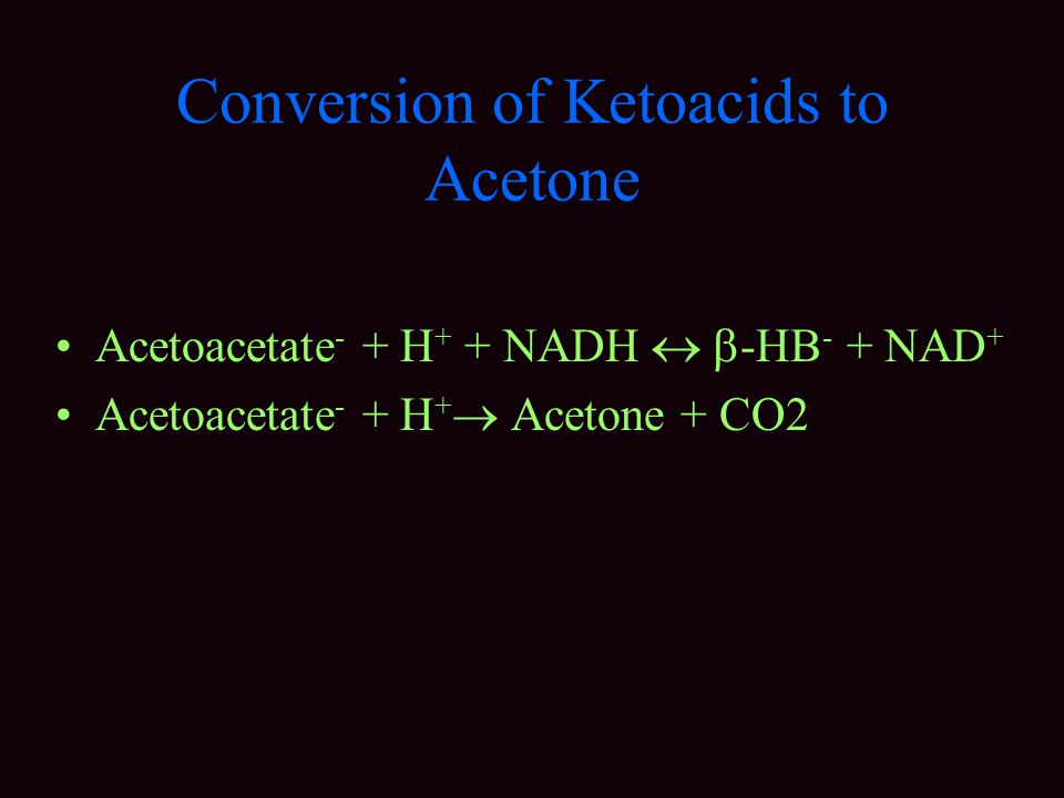 Conversion of Ketoacids to Acetone