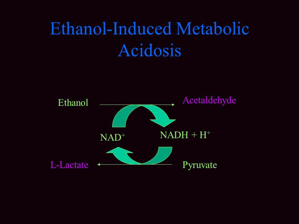 Ethanol-Induced Metabolic Acidosis