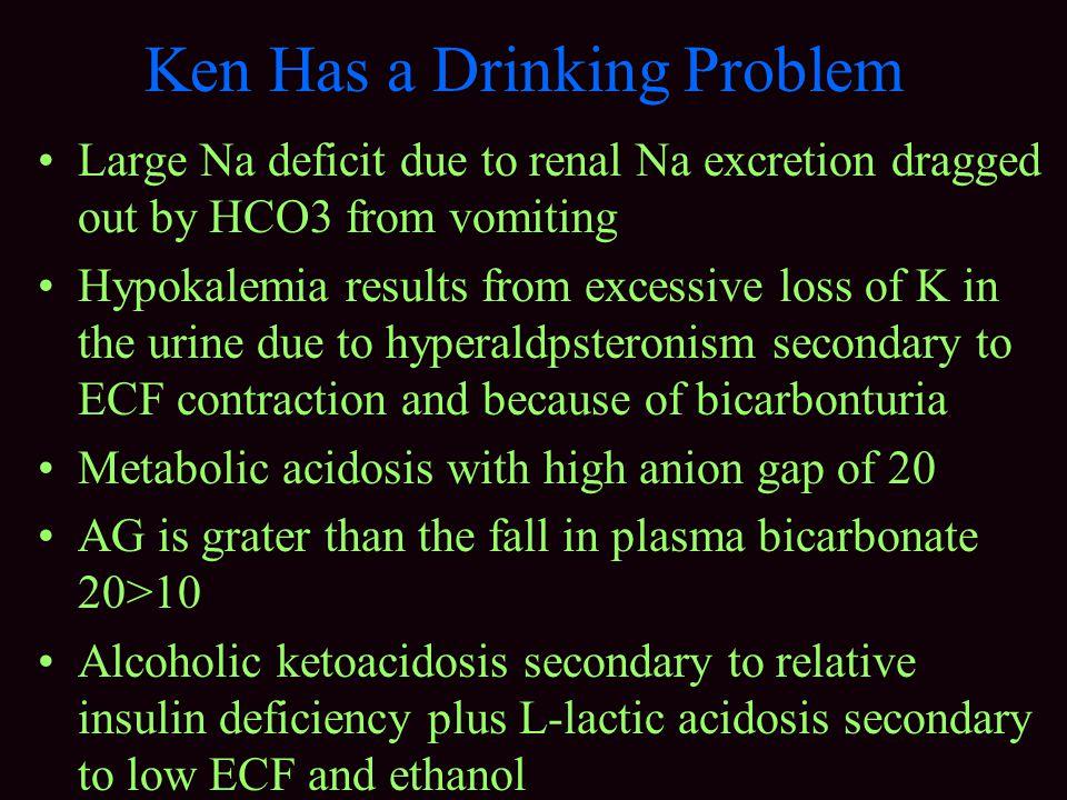 Ken Has a Drinking Problem