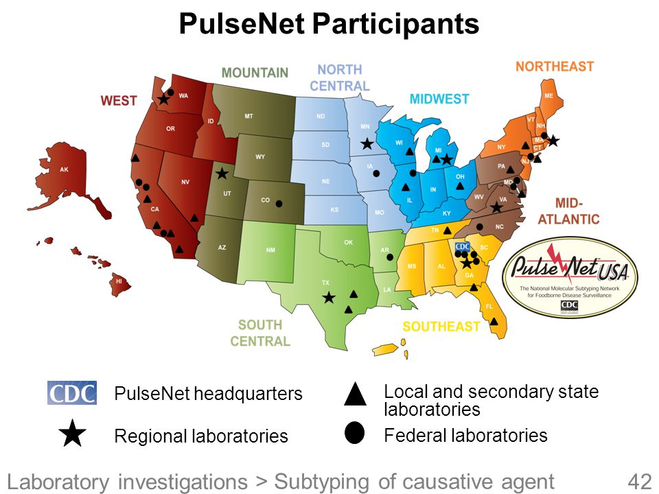 PulseNet Participants