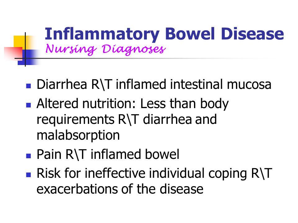 Inflammatory Bowel Disease Nursing Diagnoses