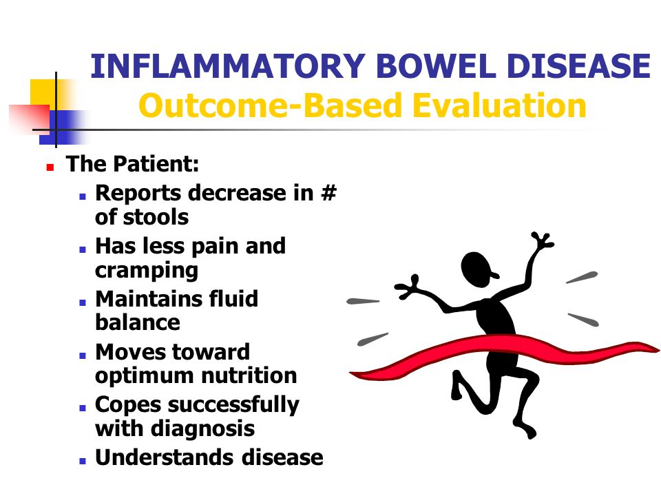 INFLAMMATORY BOWEL DISEASE Outcome-Based Evaluation