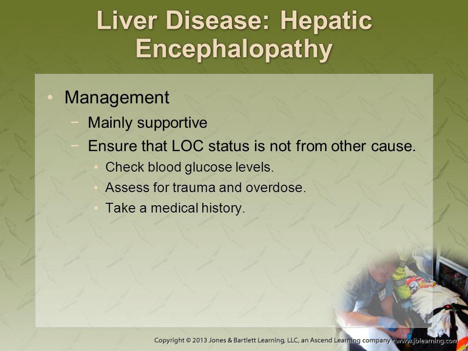 Liver Disease: Hepatic Encephalopathy