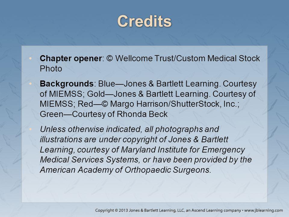 Credits Chapter opener: © Wellcome Trust/Custom Medical Stock Photo