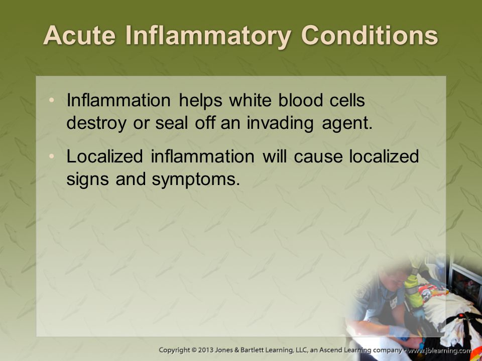 Acute Inflammatory Conditions