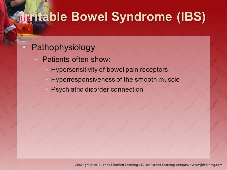 Irritable Bowel Syndrome (IBS)
