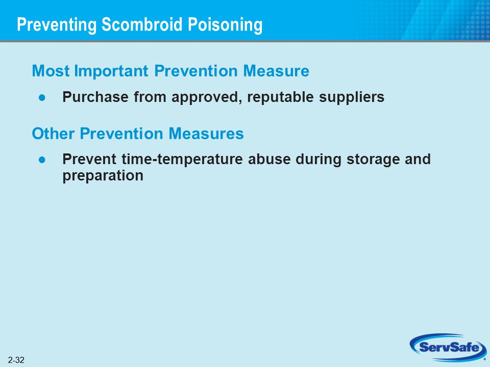Preventing Scombroid Poisoning