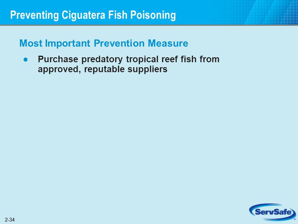 Preventing Ciguatera Fish Poisoning