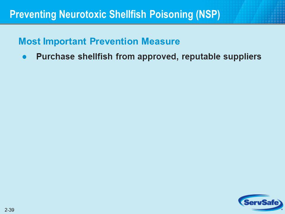 Preventing Neurotoxic Shellfish Poisoning (NSP)