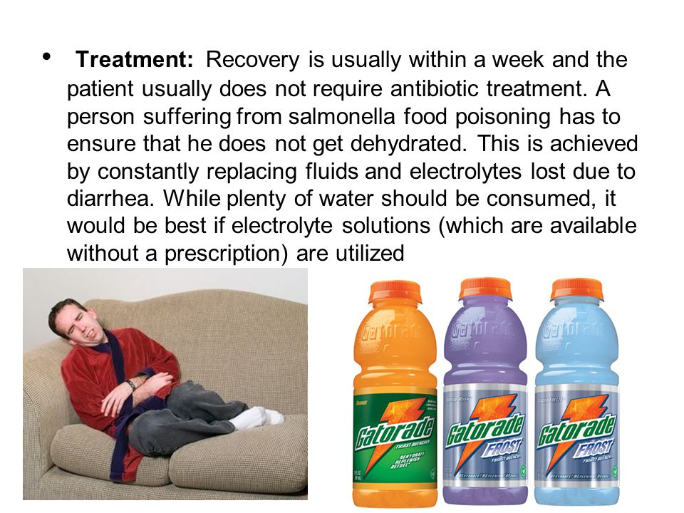 Treatment: Recovery is usually within a week and the patient usually does not require antibiotic treatment.