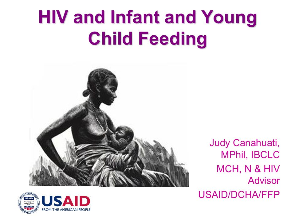 HIV and Infant and Young Child Feeding