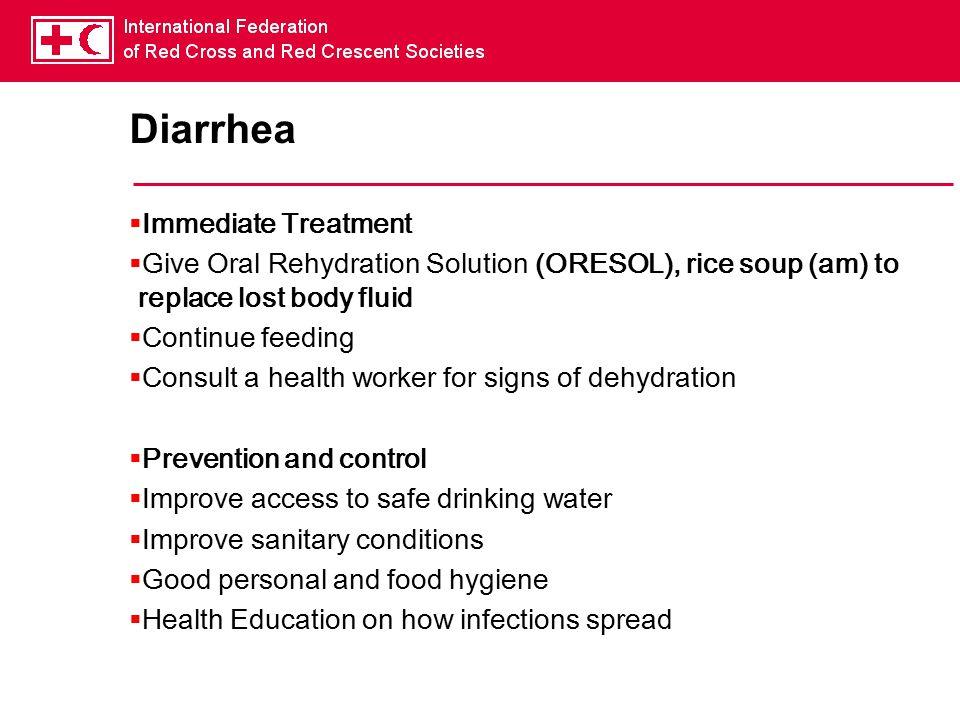 Diarrhea Immediate Treatment