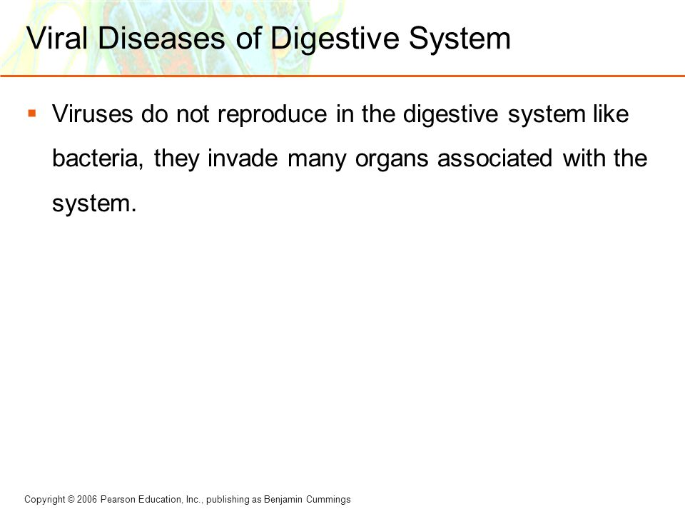 Viral Diseases of Digestive System
