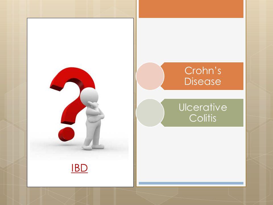 Crohn's Disease Ulcerative Colitis IBD
