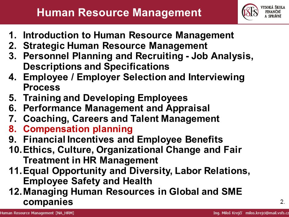 Human Resource Management (HRM) Courses