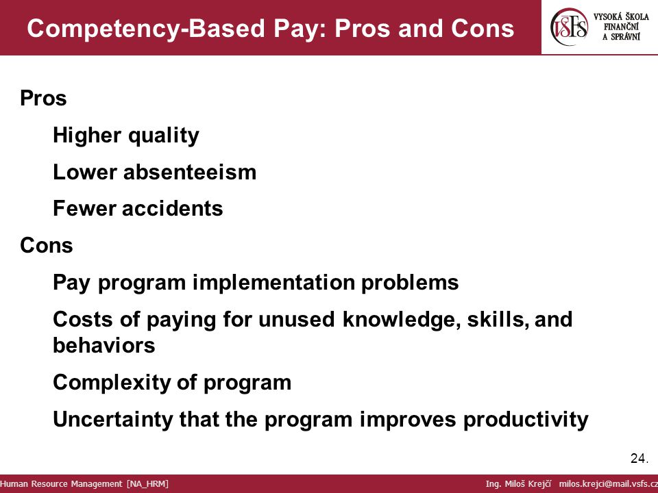 Competency-Based Pay: Pros and Cons