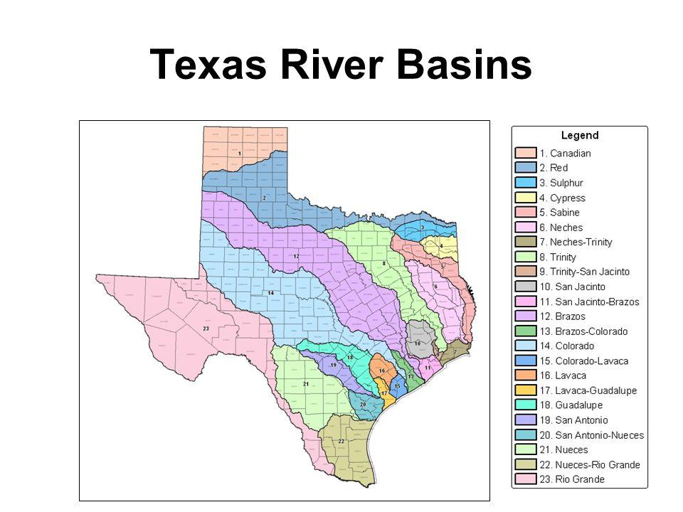 Texas River Basins