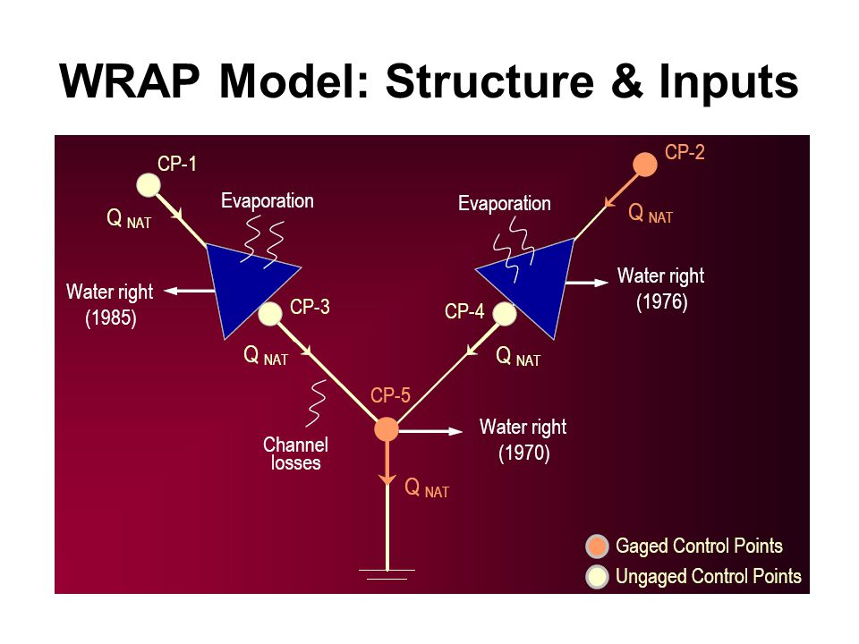 WRAP Model: Structure & Inputs