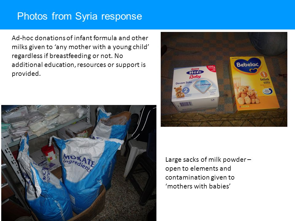 Photos from Syria response